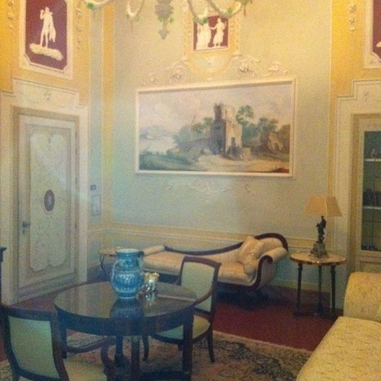 Photo taken at Villa Olmi Firenze by Luca G. on 12/1/2011