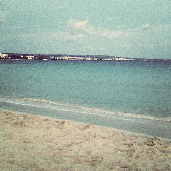 Photo taken at Makronissos Beach by Alexander N. on 10/9/2012