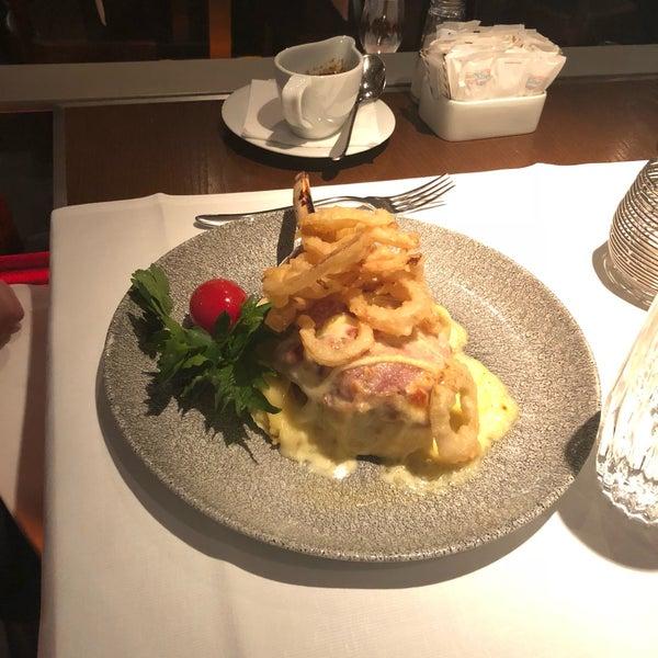 Das Foto wurde bei Restaurant Die Waid von Jeff am 3/8/2018 aufgenommen