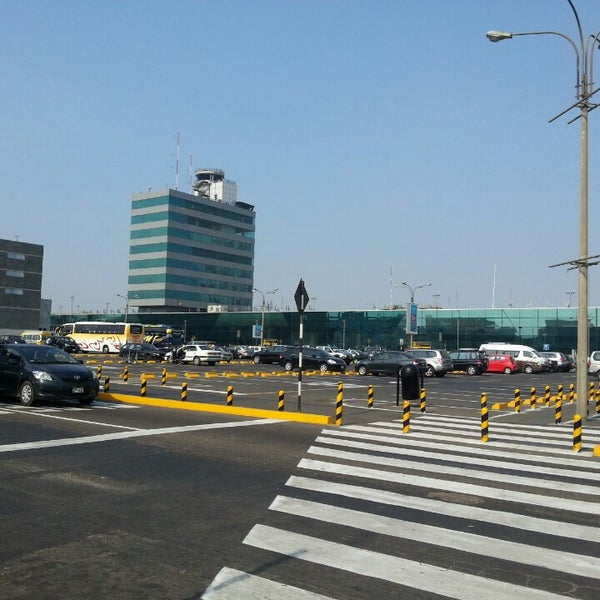 Photo taken at Jorge Chávez International Airport (LIM) by Abel D. on 4/25/2013