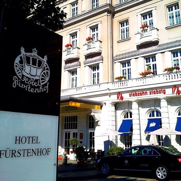 Das Foto wurde bei Hotel Fürstenhof von Christian K. am 9/16/2012 aufgenommen