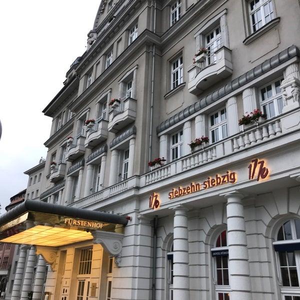 Das Foto wurde bei Hotel Fürstenhof von Christian K. am 9/24/2017 aufgenommen