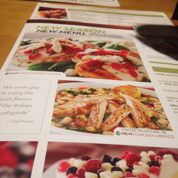 Photo Taken At Olive Garden By Grace C. On 5/2/2014