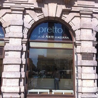 Foto scattata a Pretto Gelato Arte Italiana da Aristotele S. il 9/15/2012