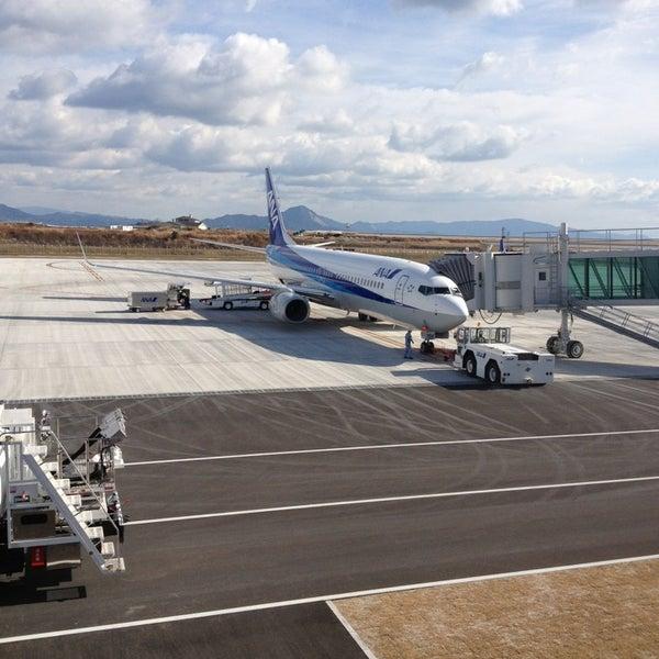 1/3/2013にhiroaki s.が岩国錦帯橋空港 / 岩国飛行場 (IWK)で撮った写真