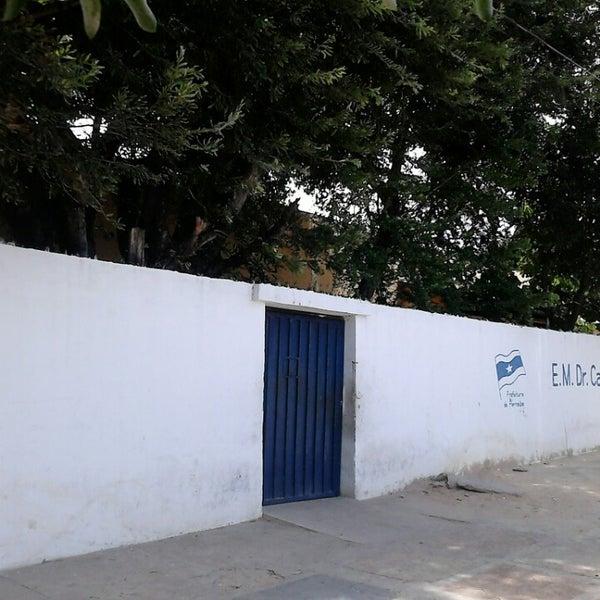 Resultado de imagem para escola candido athayde parnaiba