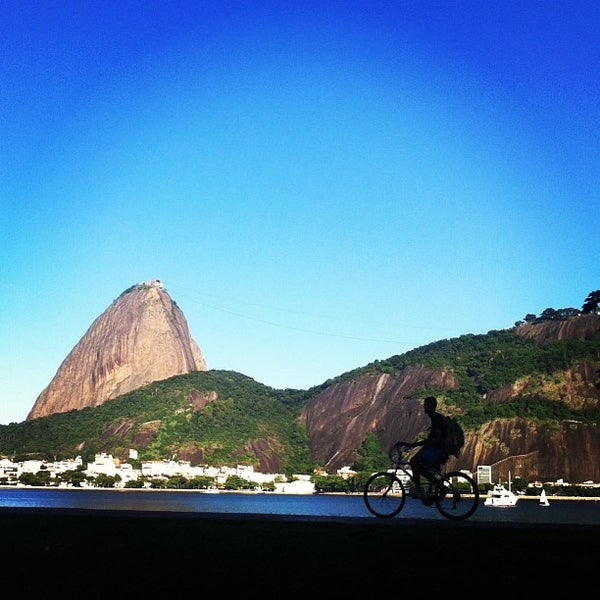 Photo taken at Flamengo Park by Marcelo P. on 4/17/2013