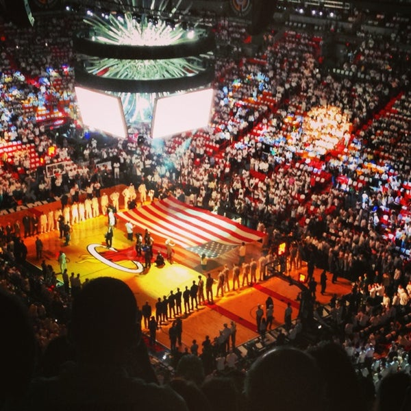 Photo taken at American Airlines Arena by Diana B. on 6/10/2013