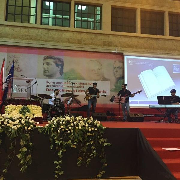 Photo taken at Holy Spirit University Of Kaslik by Fidele H. on 6/10/2015