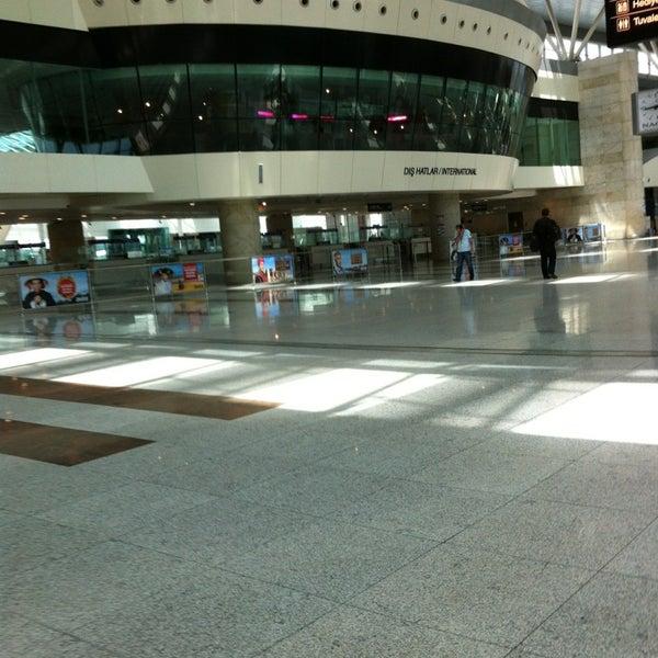 Photo taken at Ankara Esenboğa Airport (ESB) by H P. on 6/17/2013