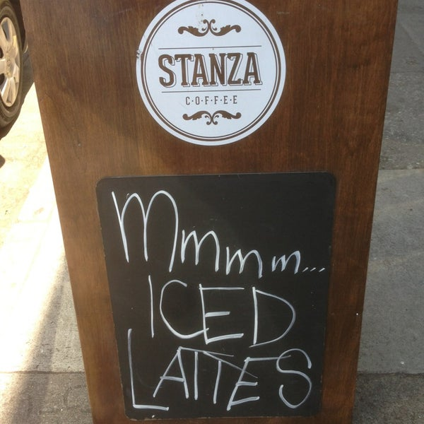 Photo taken at Stanza Coffee Bar by Billy L. on 7/4/2013