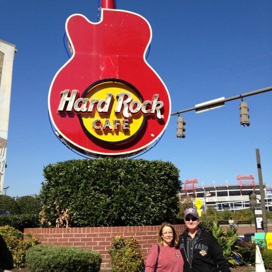 Photo taken at Hard Rock Cafe Nashville by Lisa R. on 10/9/2012