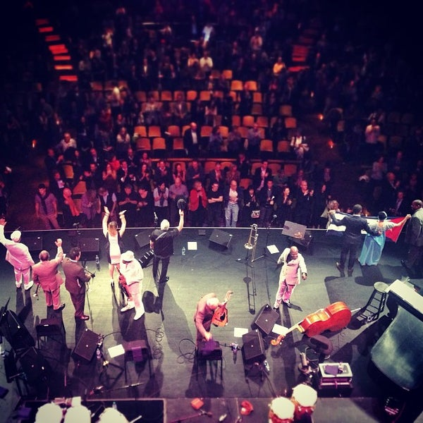 Photo taken at Rose Theater by Yura L. on 10/12/2013
