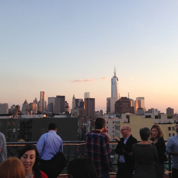 Photo taken at Meetup HQ Roof Deck by Giorgia L. on 5/17/2013