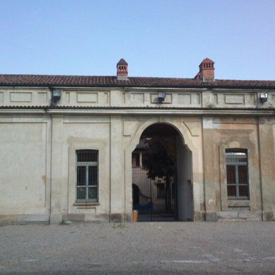 Photo taken at Villa Visconti Borromeo Litta by Valeria M. on 8/15/2013