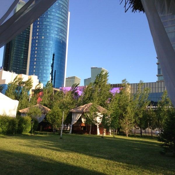 6/2/2013 tarihinde Gulnaraziyaretçi tarafından Rixos President Astana'de çekilen fotoğraf