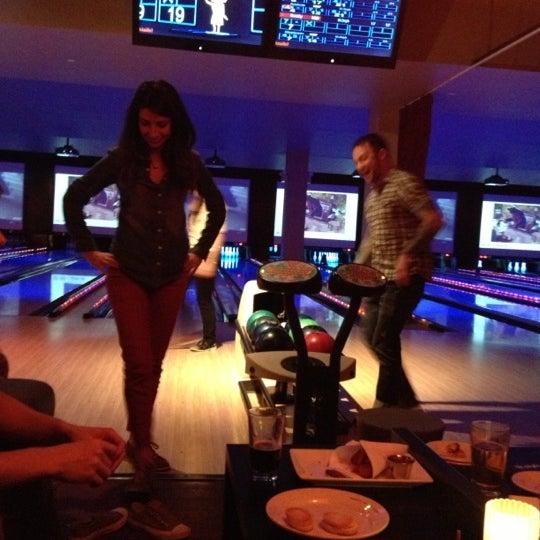 Photo taken at Lucky Strike New York by Jeff S. on 12/13/2012