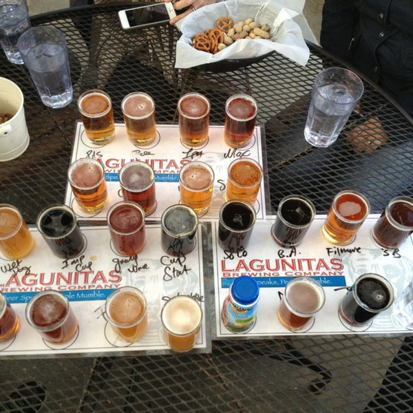 Photo taken at Lagunitas Brewing Company by Dom D. on 1/3/2013