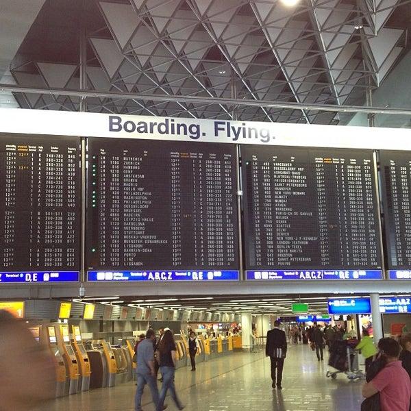 Das Foto wurde bei Frankfurt Airport (FRA) von Bruno am 7/4/2013 aufgenommen