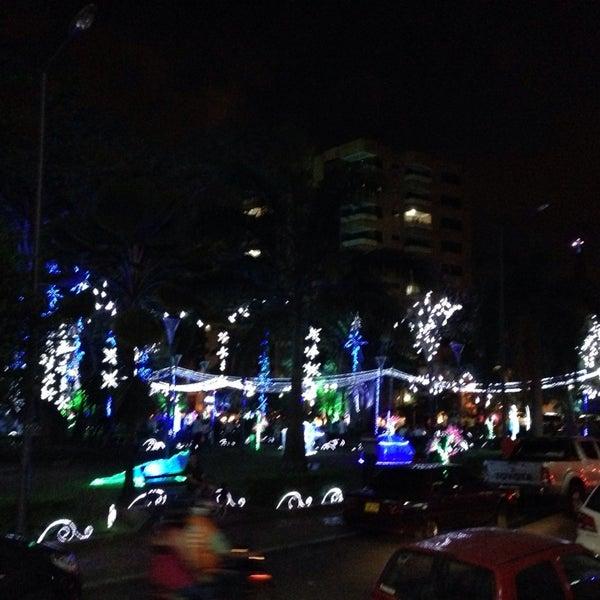 Photo taken at Parque Las Palmas by John C. on 11/21/2013