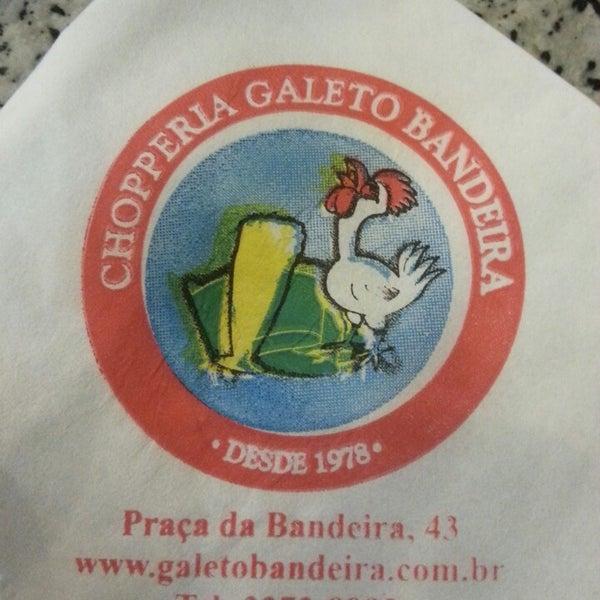 5/14/2013에 Bruno L.님이 Chopperia Galeto Bandeira에서 찍은 사진