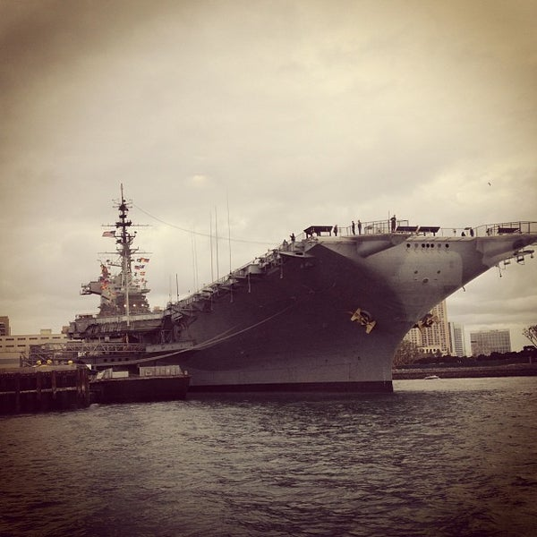 Photo taken at USS Midway Museum by Es K. on 12/30/2012