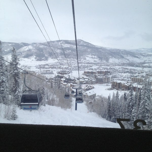 Photo taken at Steamboat Resort by William R. on 2/24/2013