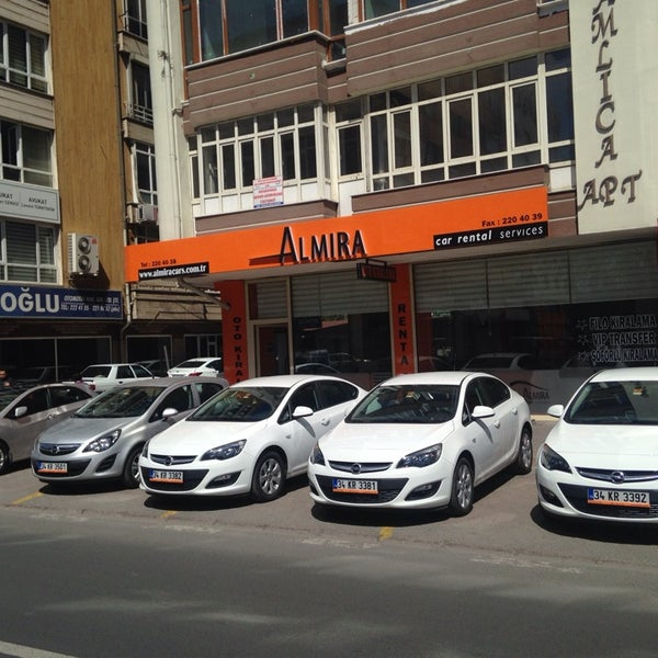 Almira Rent A Car Kayseri