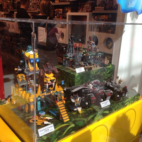 Photo taken at LEGO Store by Sibel E. on 9/28/2013