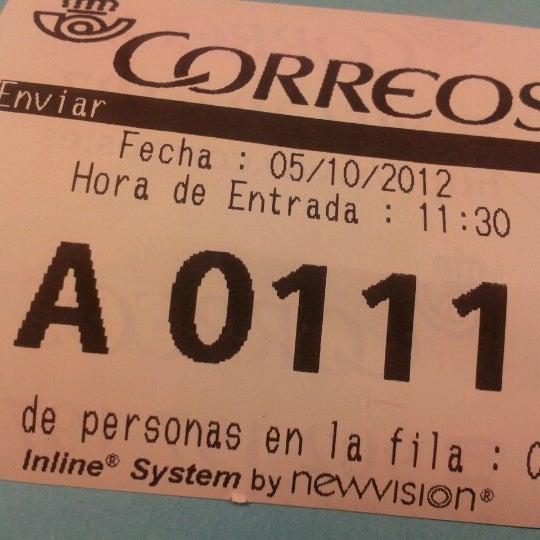 Correos post office in sant gervasi galvany for Oficina correos barcelona
