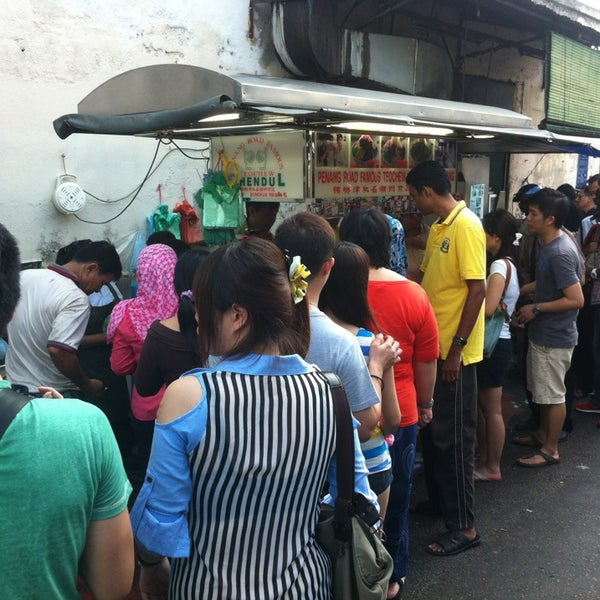 Photo taken at Penang Road Famous Teochew Chendul (Tan) by TS on 3/30/2013
