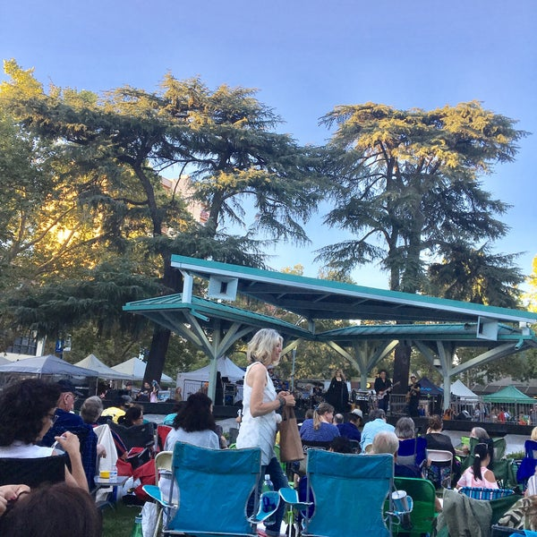 Photo taken at Todos Santos Plaza by Kevin R. on 7/28/2017