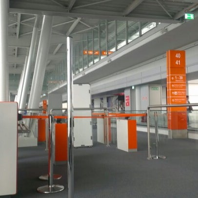 Photo taken at Gate 41 by Alvar L. on 9/22/2012