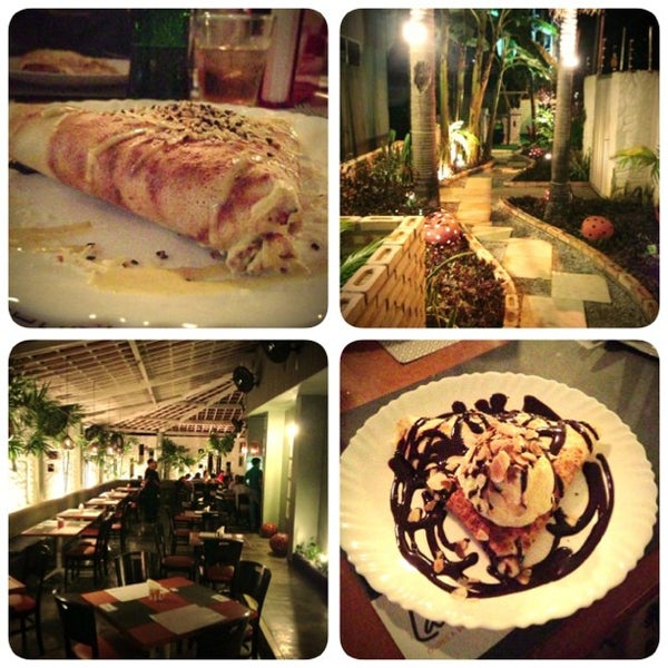 Photo taken at Bercy Village - Crepes e Saladas by Travis C. on 2/19/2013