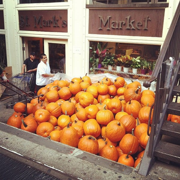 Photo taken at St. Mark's Market by Yifei Y. on 10/21/2012