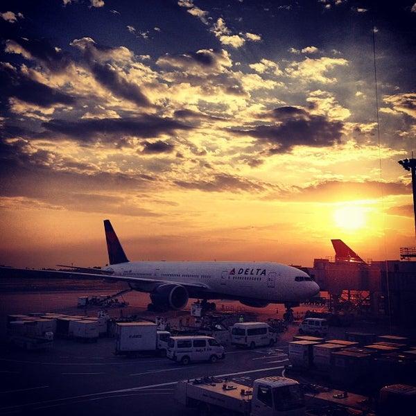 Photo taken at Narita International Airport (NRT) by Alfred H. on 6/8/2013