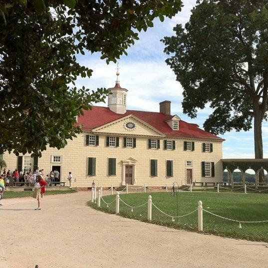 Photo taken at George Washington's Mount Vernon by Michael Q. on 9/15/2012
