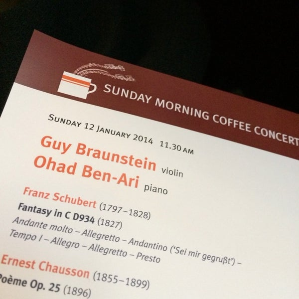 Photo taken at Wigmore Hall by SULLY B. on 1/12/2014