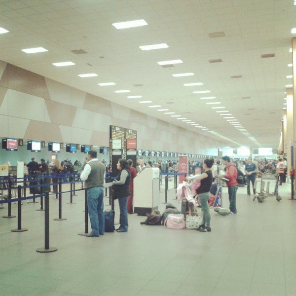 Photo taken at Jorge Chávez International Airport (LIM) by Cinthya C. on 5/11/2013