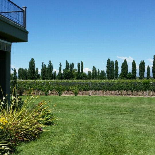 Photo taken at Dominio del Plata Winery by John P. on 12/20/2015
