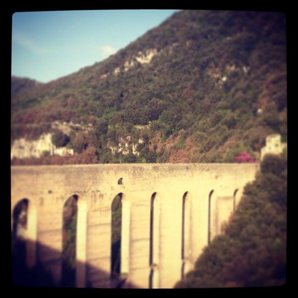 Photo taken at Ponte Delle Torri by Marta M. on 4/28/2013