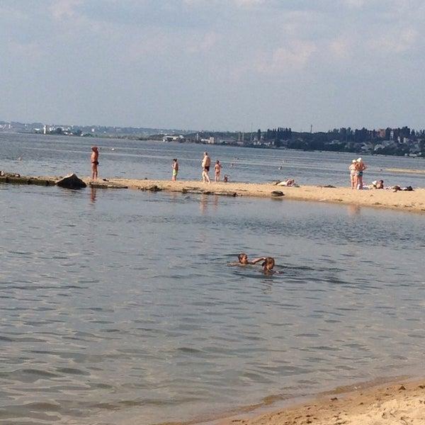 Photo taken at Пляж в Октябрьском by Yevgeniy Z. on 7/13/2013