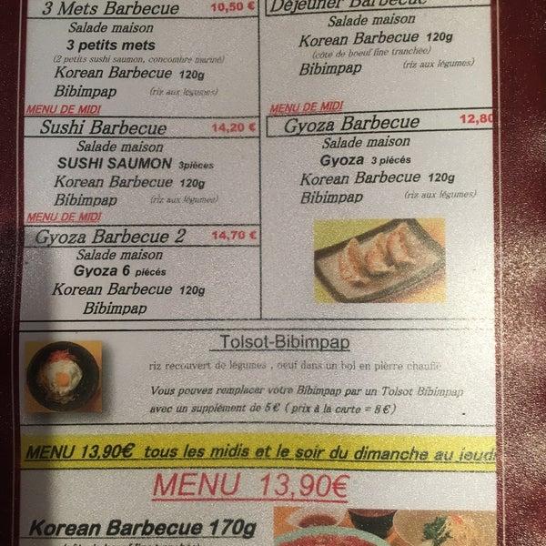 Korean Barbecue - Korean Restaurant in Montparnasse