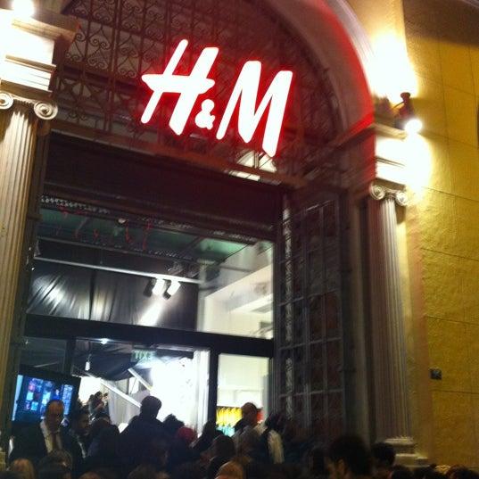 Photo taken at H&M by Lampros R. on 11/13/2012