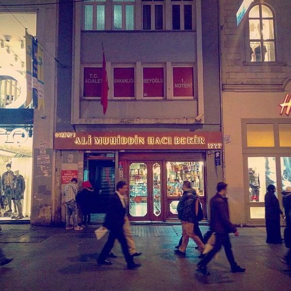 10/20/2016 tarihinde Onurziyaretçi tarafından Ali Muhiddin Hacı Bekir'de çekilen fotoğraf