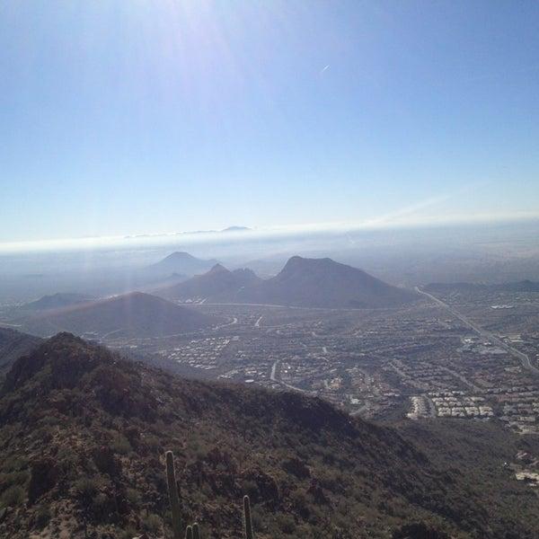 Photo taken at Sunrise Peak by Kim M. on 1/8/2013