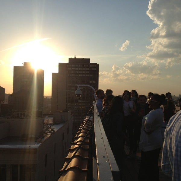 Photo taken at Meetup HQ Roof Deck by Gianfranco P. on 5/16/2013