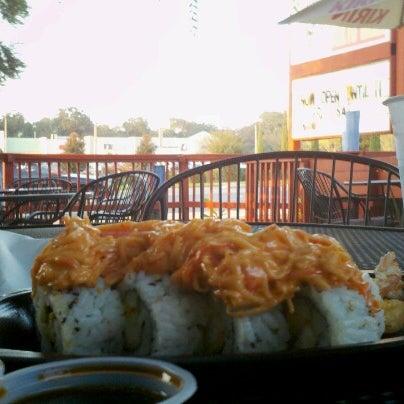 Photo taken at Mr. Roboto Tokyo Grill by Matt T. on 10/9/2012