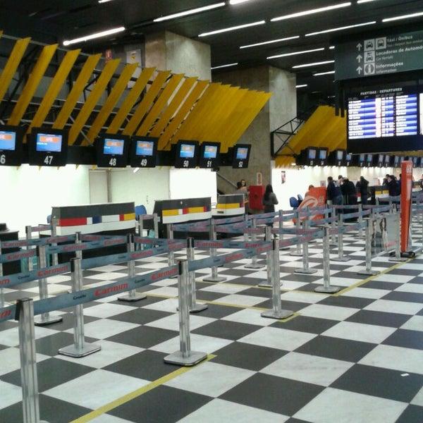 Снимок сделан в Международный аэропорт Конгоньяс/Сан-Паулу (CGH) пользователем Everton D. 7/28/2013