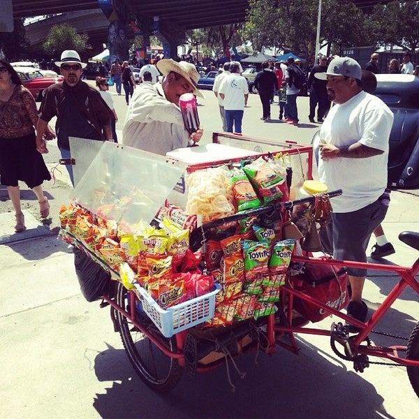 Photo taken at Chicano Park by Julian C. on 4/19/2014